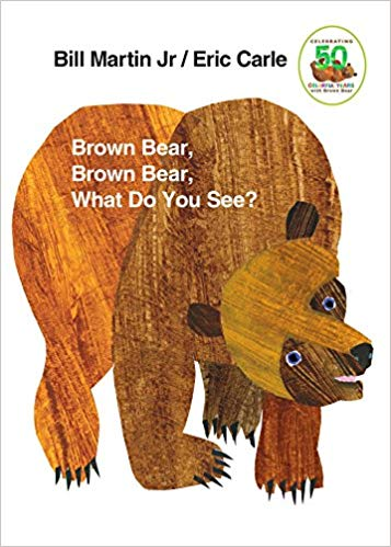 Brown Bear What Do You See - reading books to children elicits language