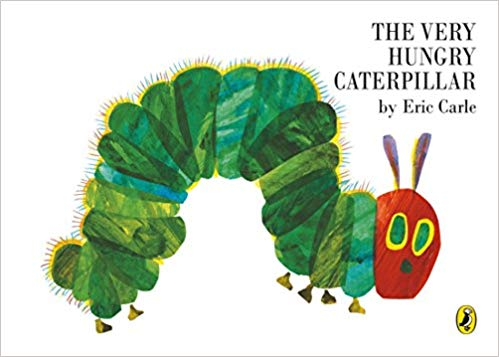 The Very Hungry Caterpillar book - reading for  increasing your child's speech and language skills
