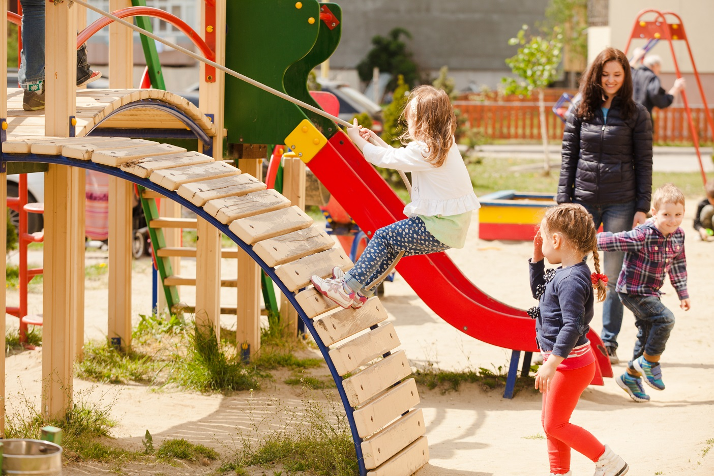 summer time play and heavy work activities improve proprioception in children