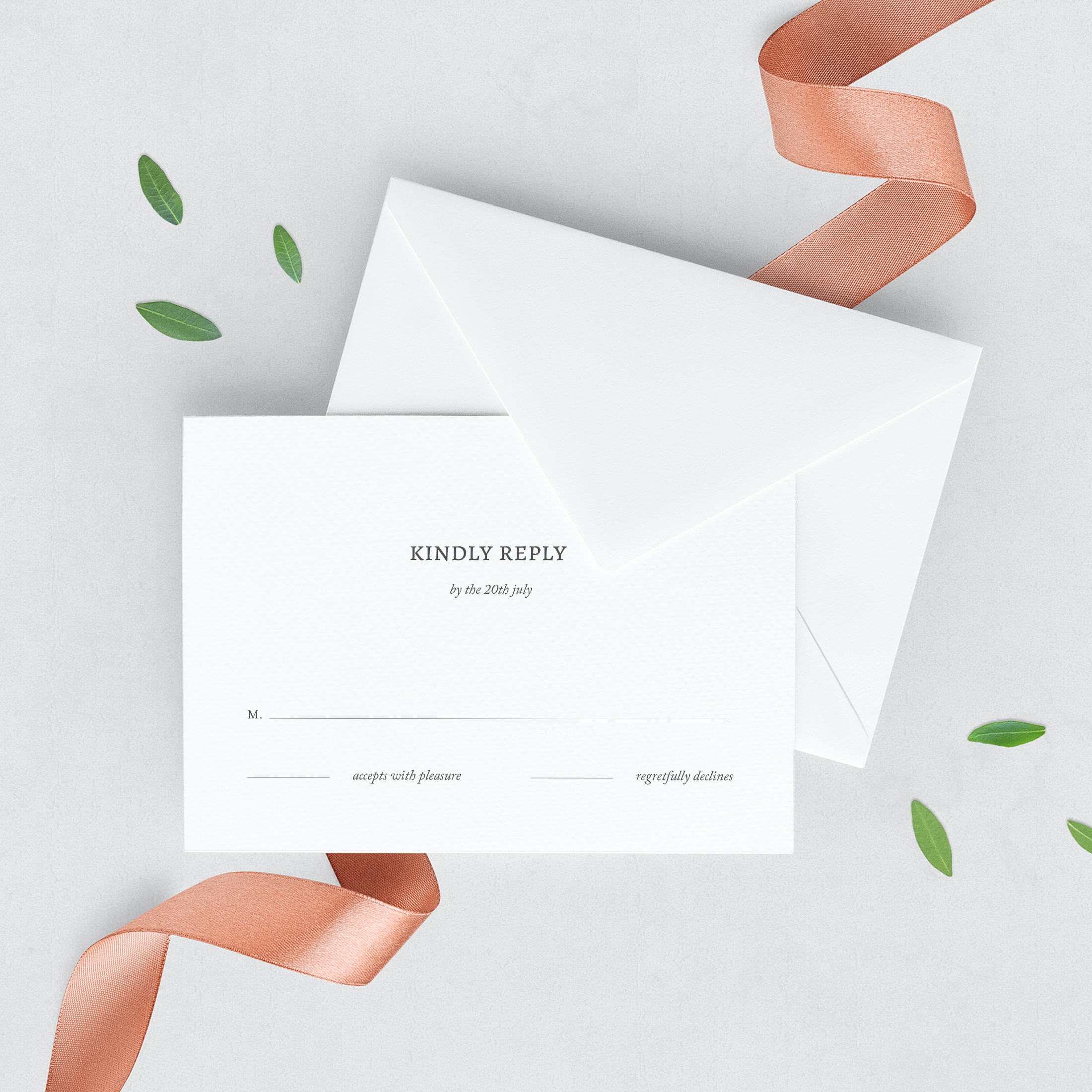 Magnolia Wedding Stationery Suite Wenna Designs