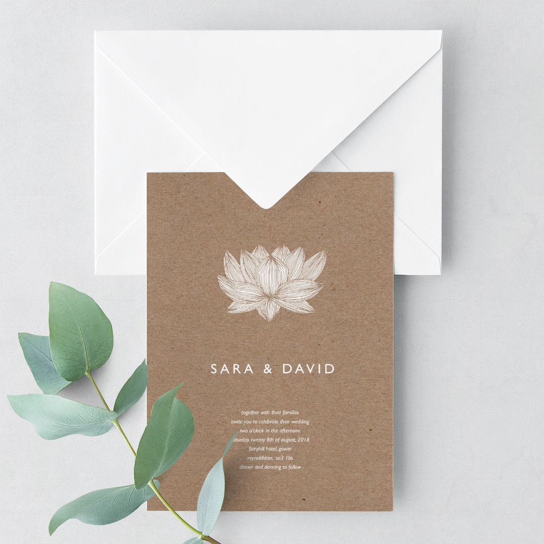 Invitation Card and Envelope with eucalyptus.jpg