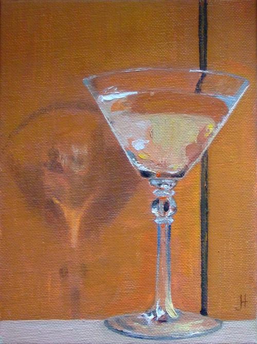V-glass Martini