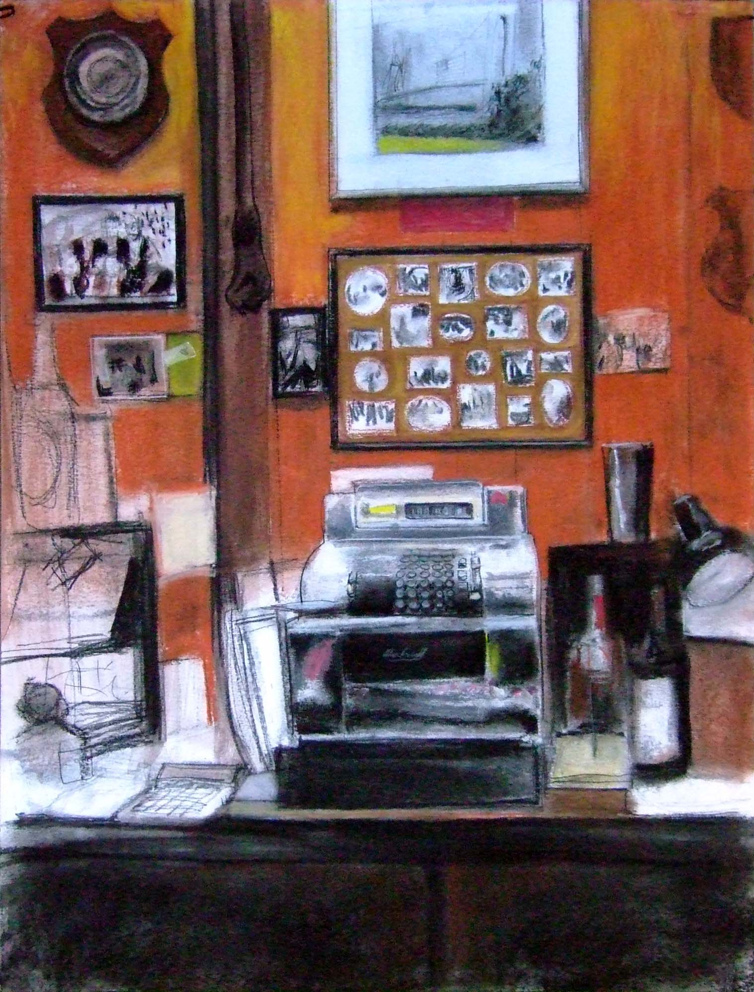 Colandrea's New Corner, cash register
