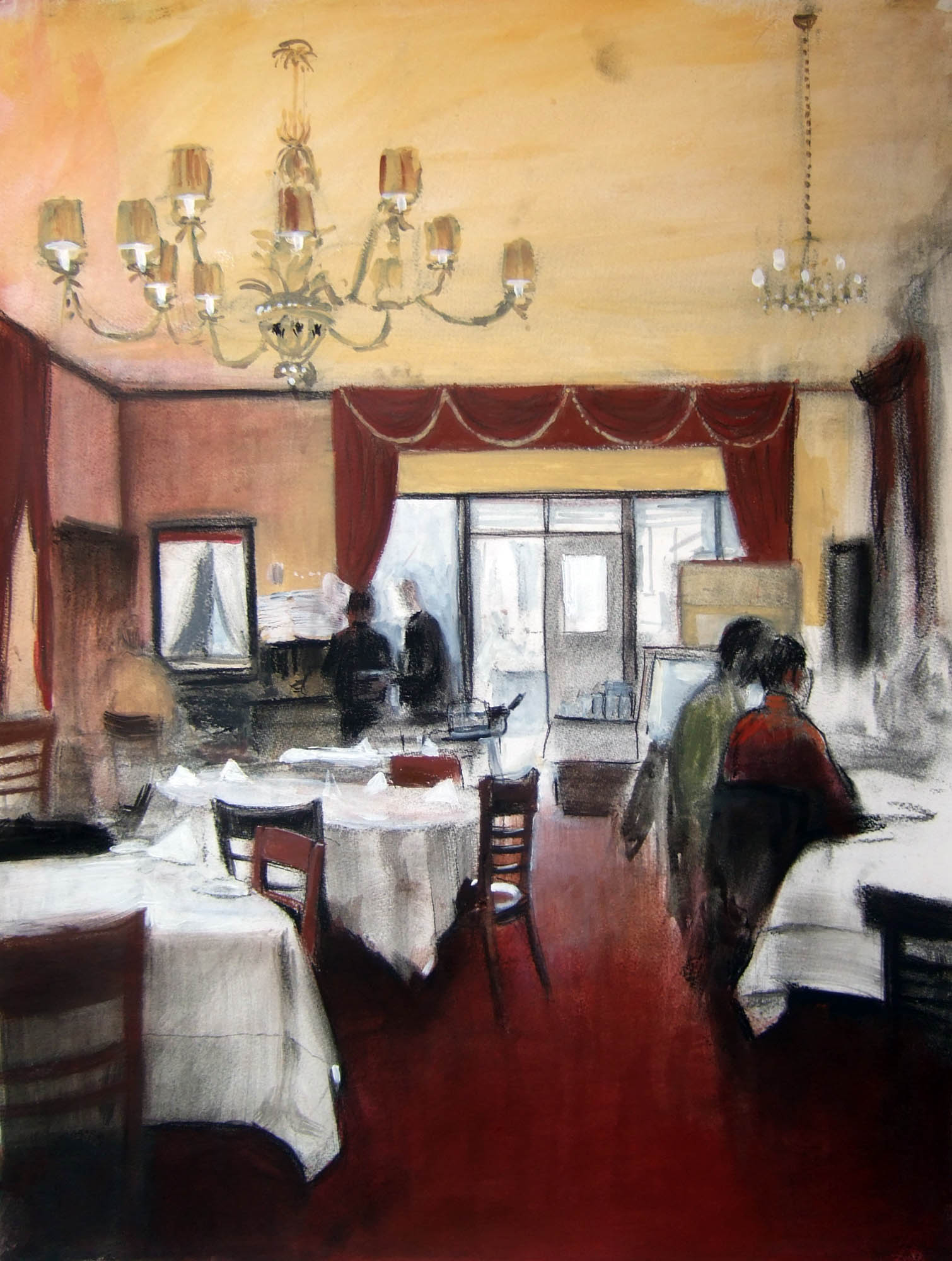 Bamonte's dining room