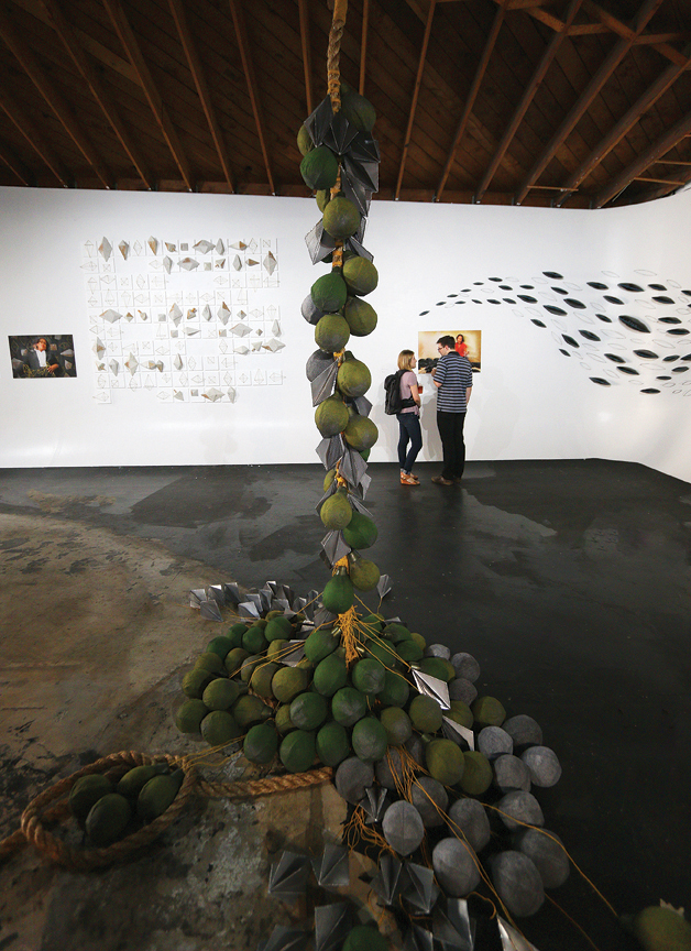 Force of Nature, installation view, from The Carrying Stones Project