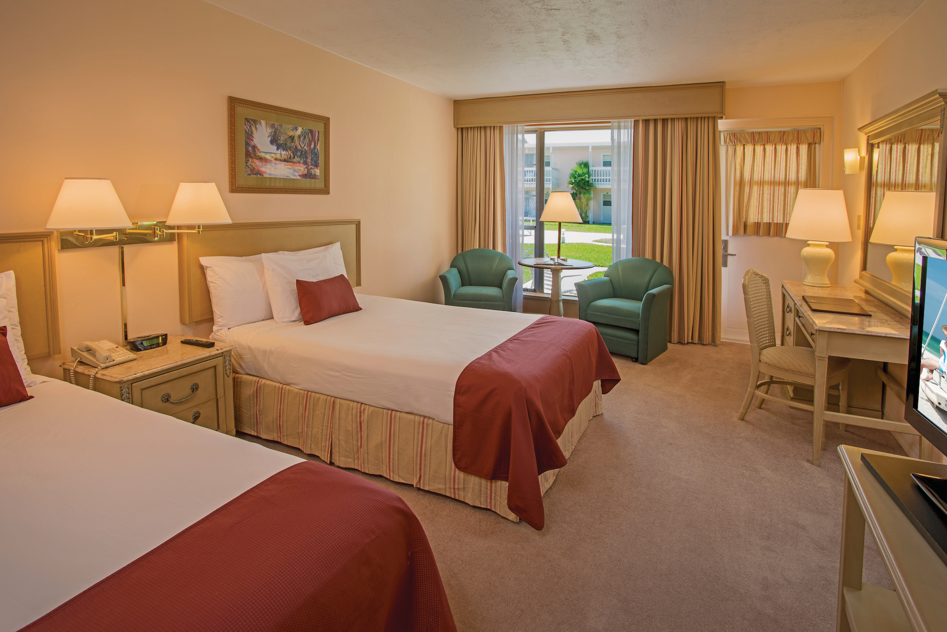 Garden view two bedroom guest room at Sandcastle Resort at Lido beach.jpg