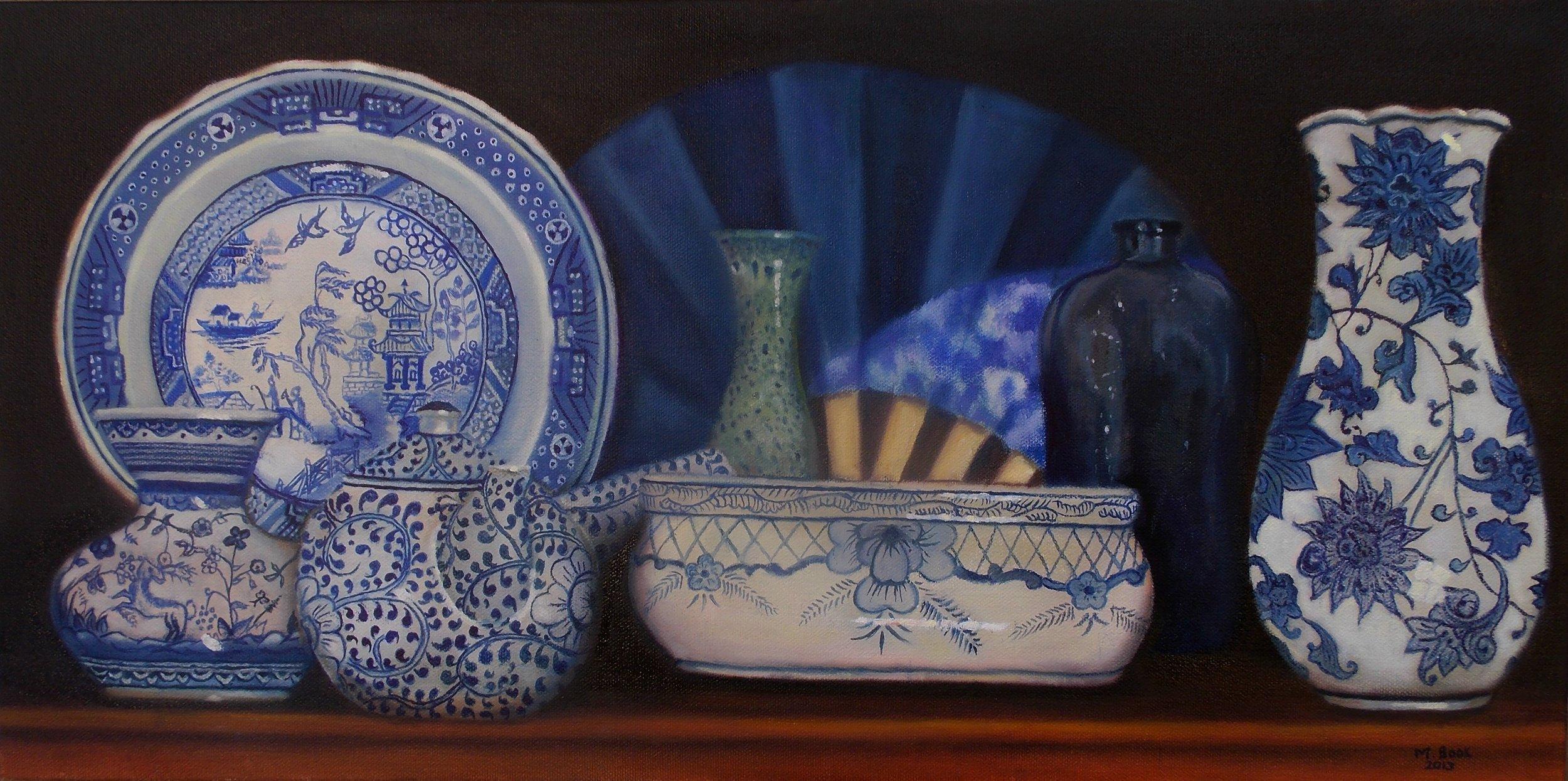 Blue and white porcelain ware.JPG