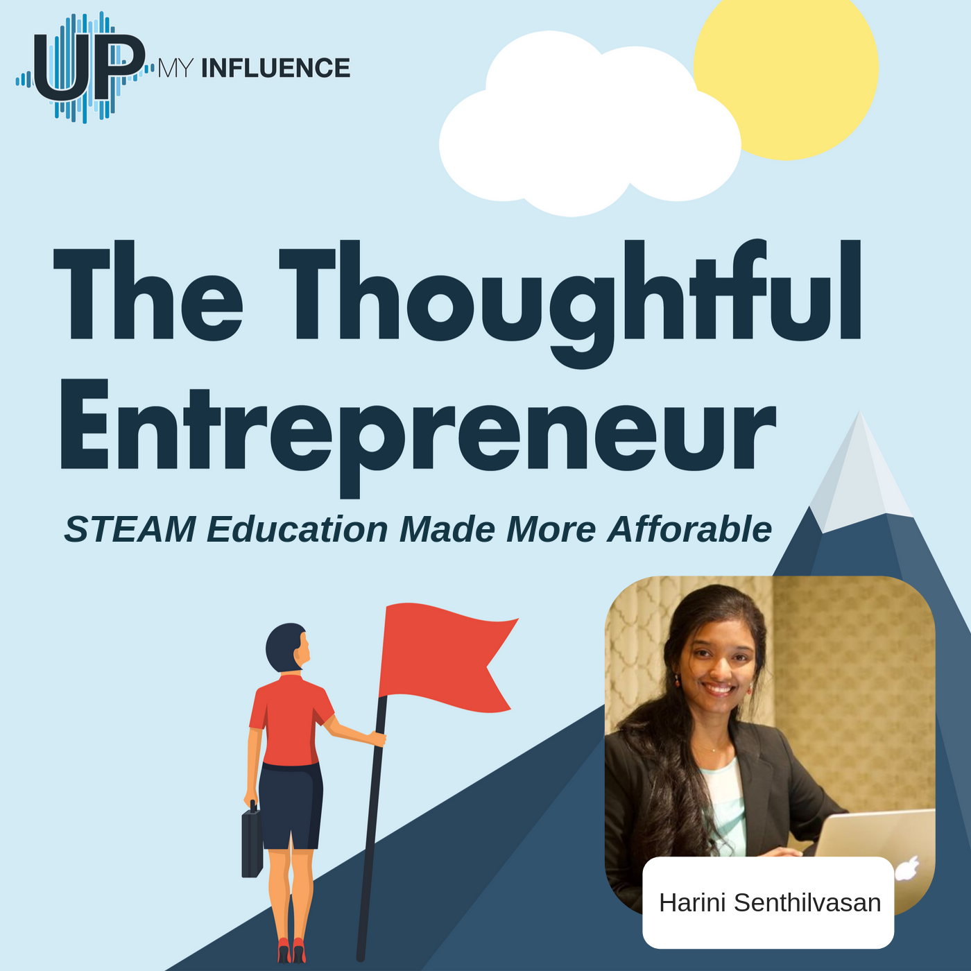 Check this out! Marshmallow Minds Founder and CEO, Harini Senthilvasan was interviewed for The Thoughtful Entrepreneur podcast with @UpMyInfluence.