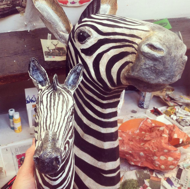 Emily Warren - Papier Mache Sculpture