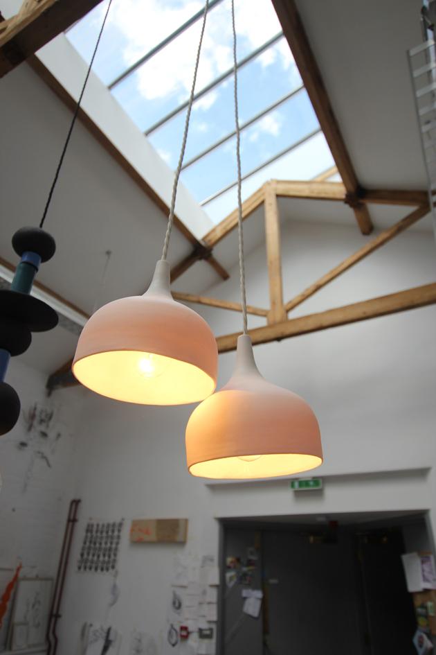 Anna Usbourne - Lights, Cast Concrete Sinks & Worktops