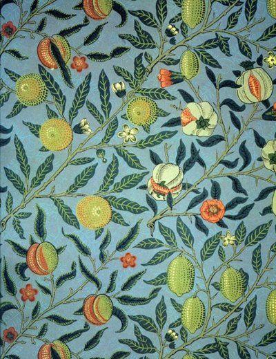'Fruit' by William Morris, 1866
