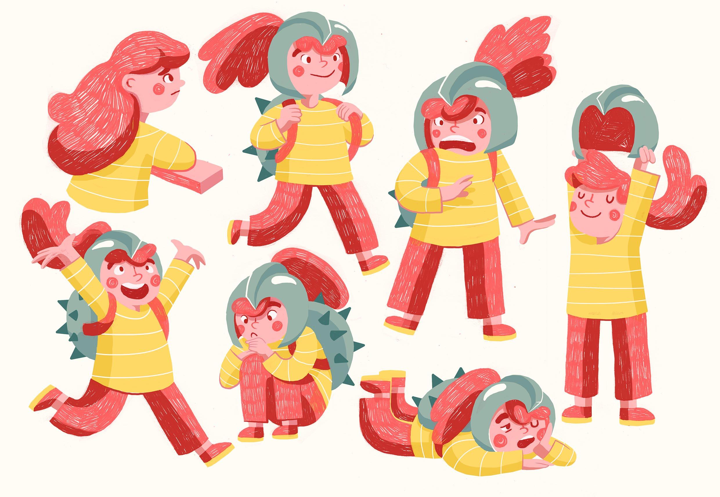 Jill: Character Design