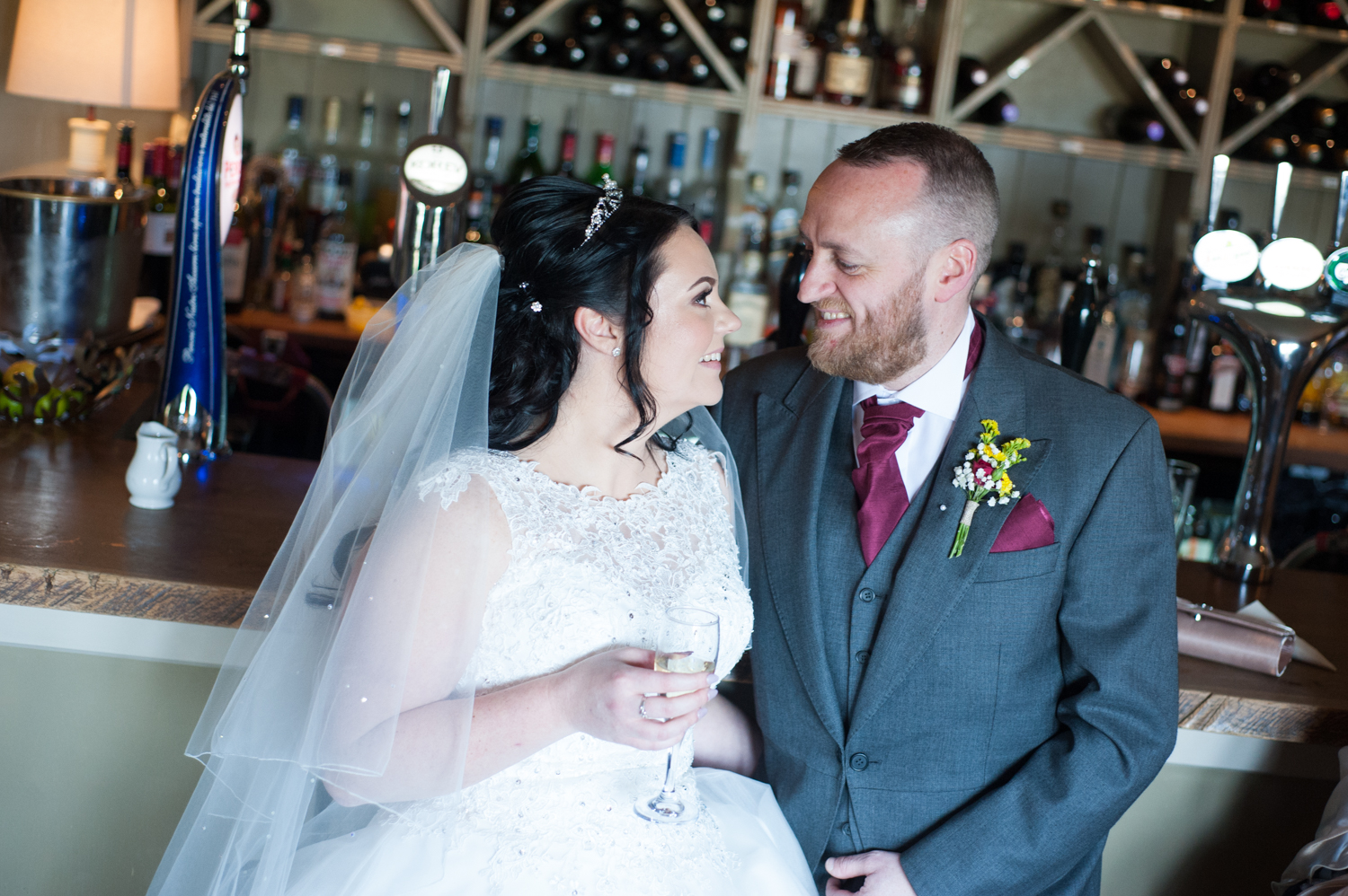 Dan & Kayleigh Merry at Langdon Court Hotel