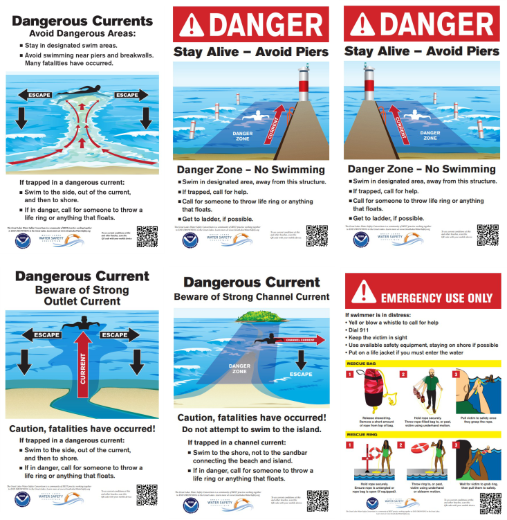All beaches need warning signs. - Does yours have some? Order them from us here.