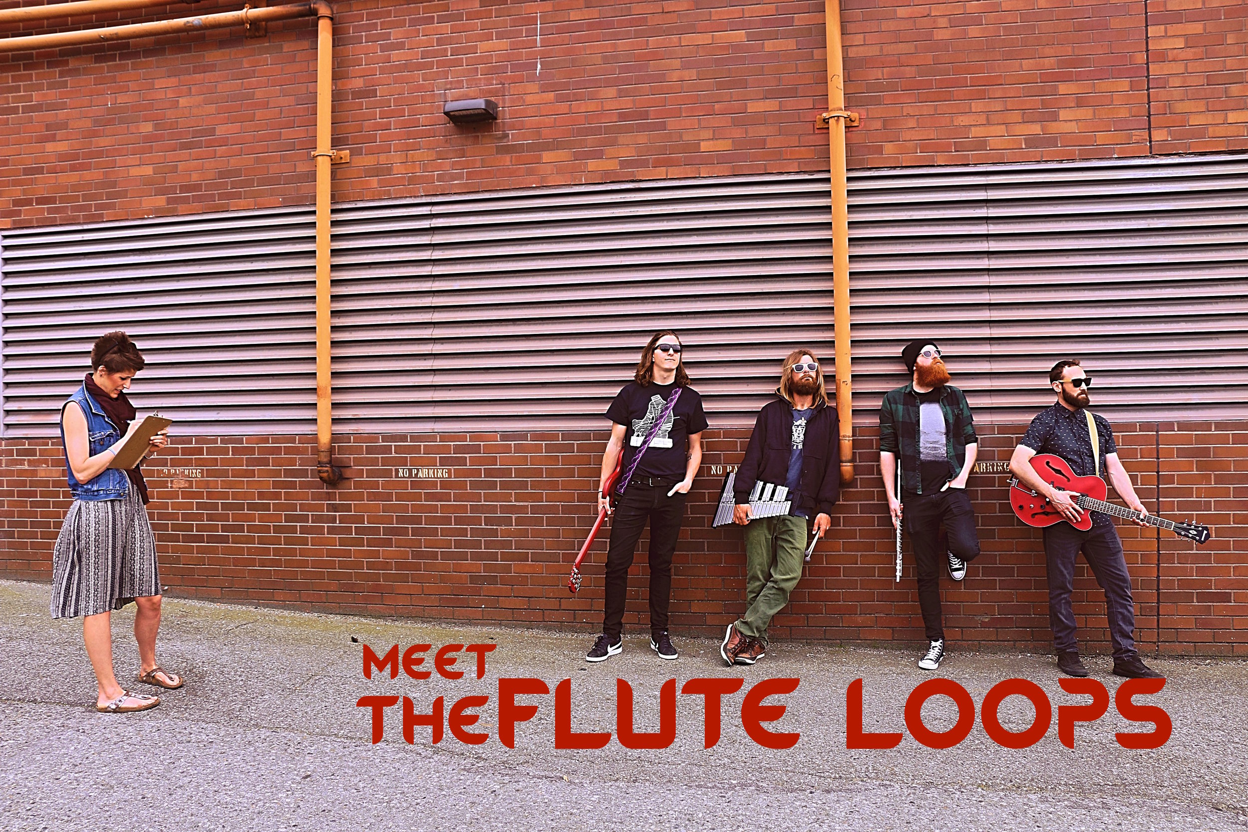 The Flute Loops   are (L-R):Peter, Jason, Thomas, and Lance