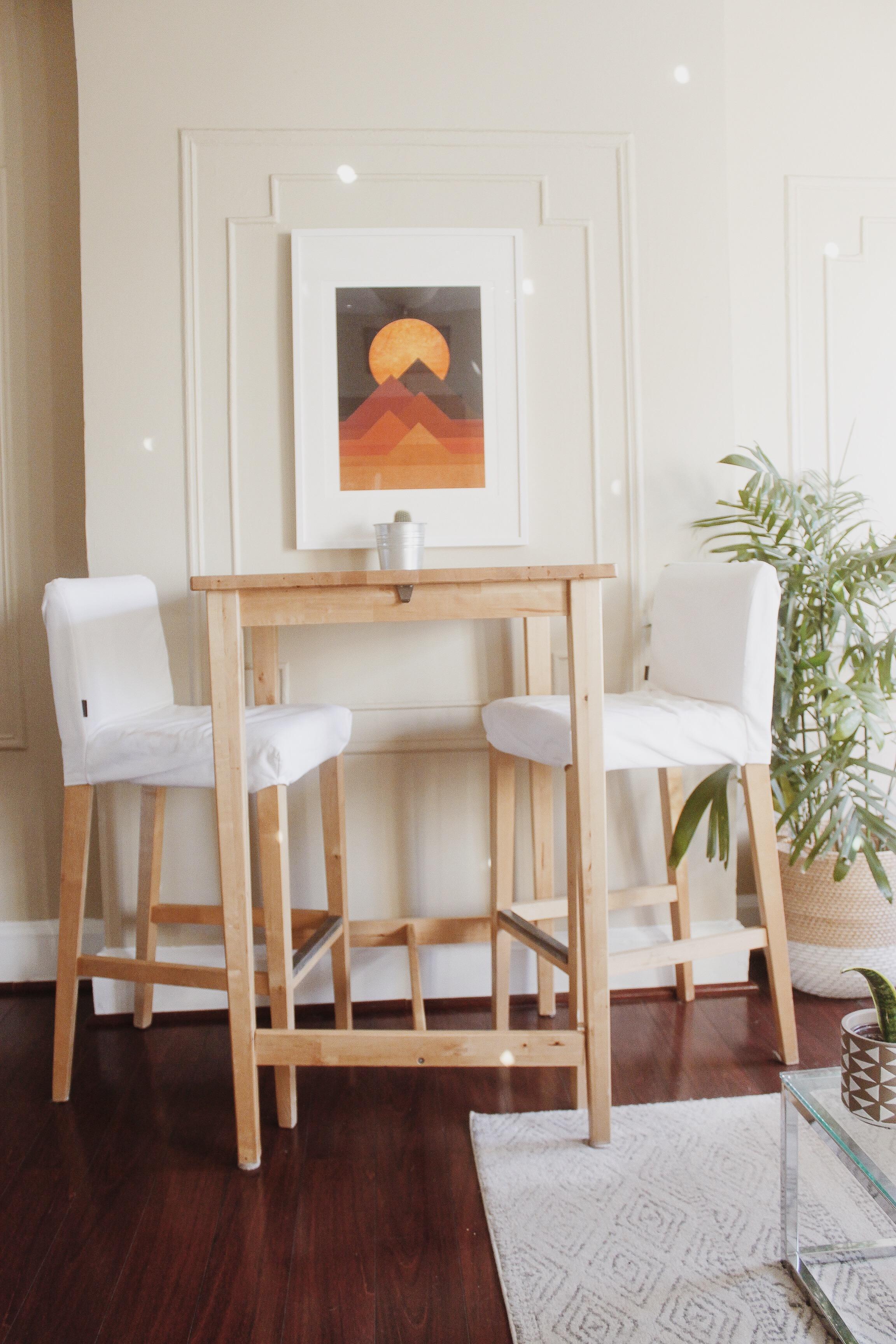 print: society 6 stool cushion covers: etsy
