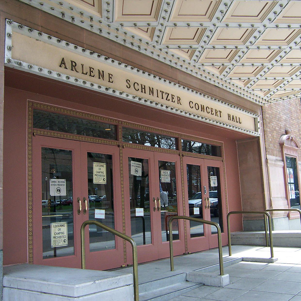 Arlene Schnitzer Concert Hall West Entry