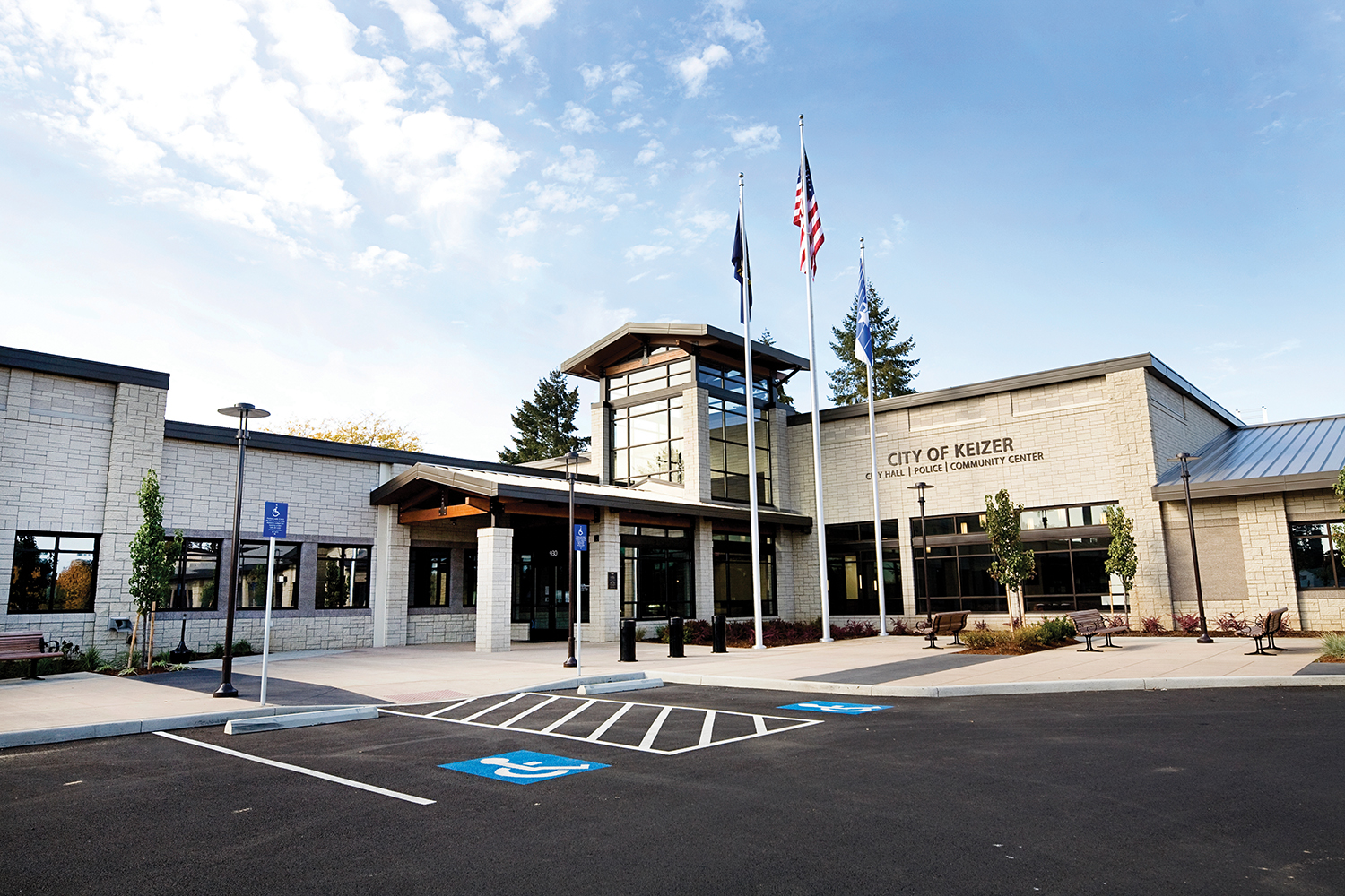 City of Keizer City Hall and Police
