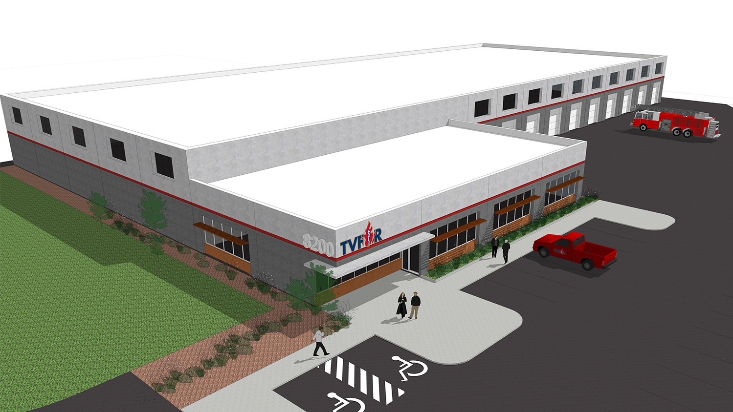 TVF&R Logistics Service Center