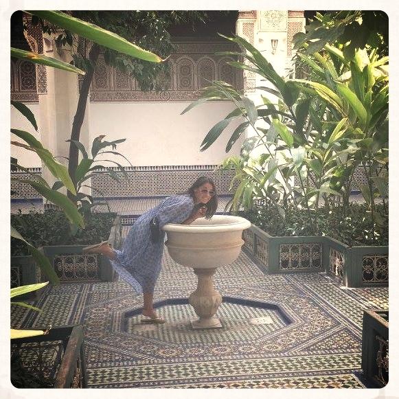 Touring the Palace Gardens @Marrakesh