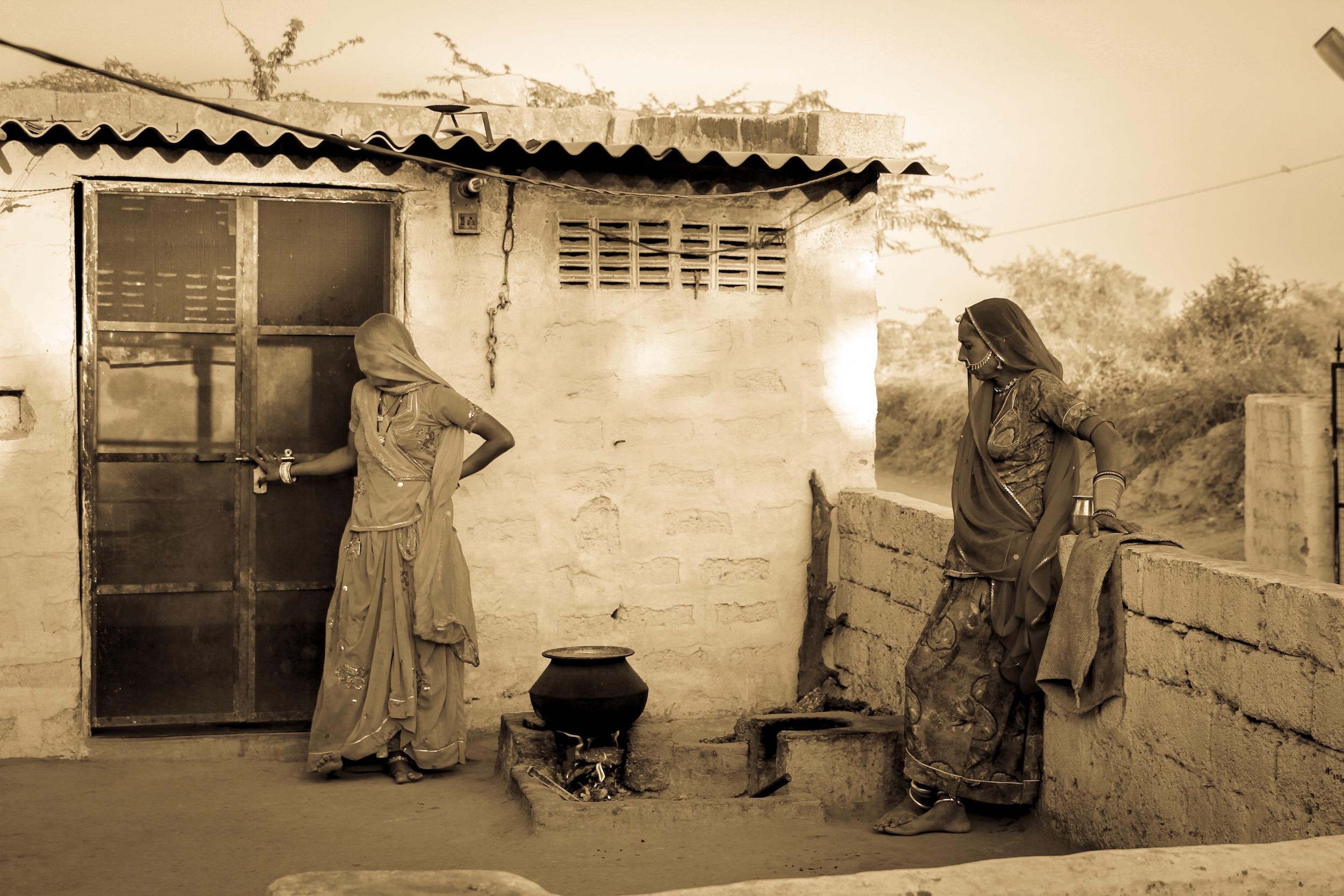 Women with Cauldron