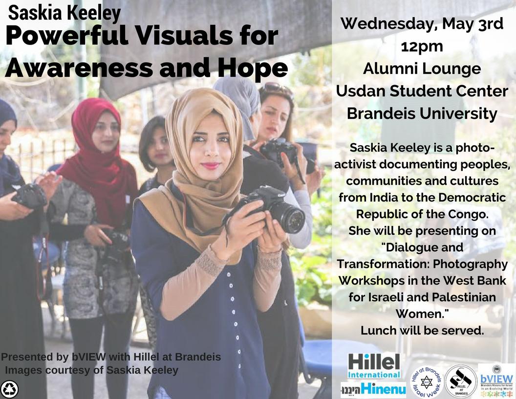 Saskia Keeley: Powerful Visuals for Awareness and Hope - Brandeis University