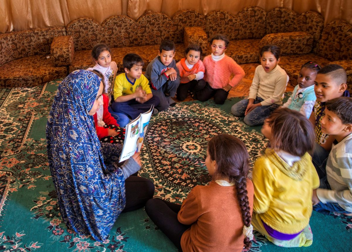 We Love Reading - Non-profit teaching Syrian refugees to read in Jordan