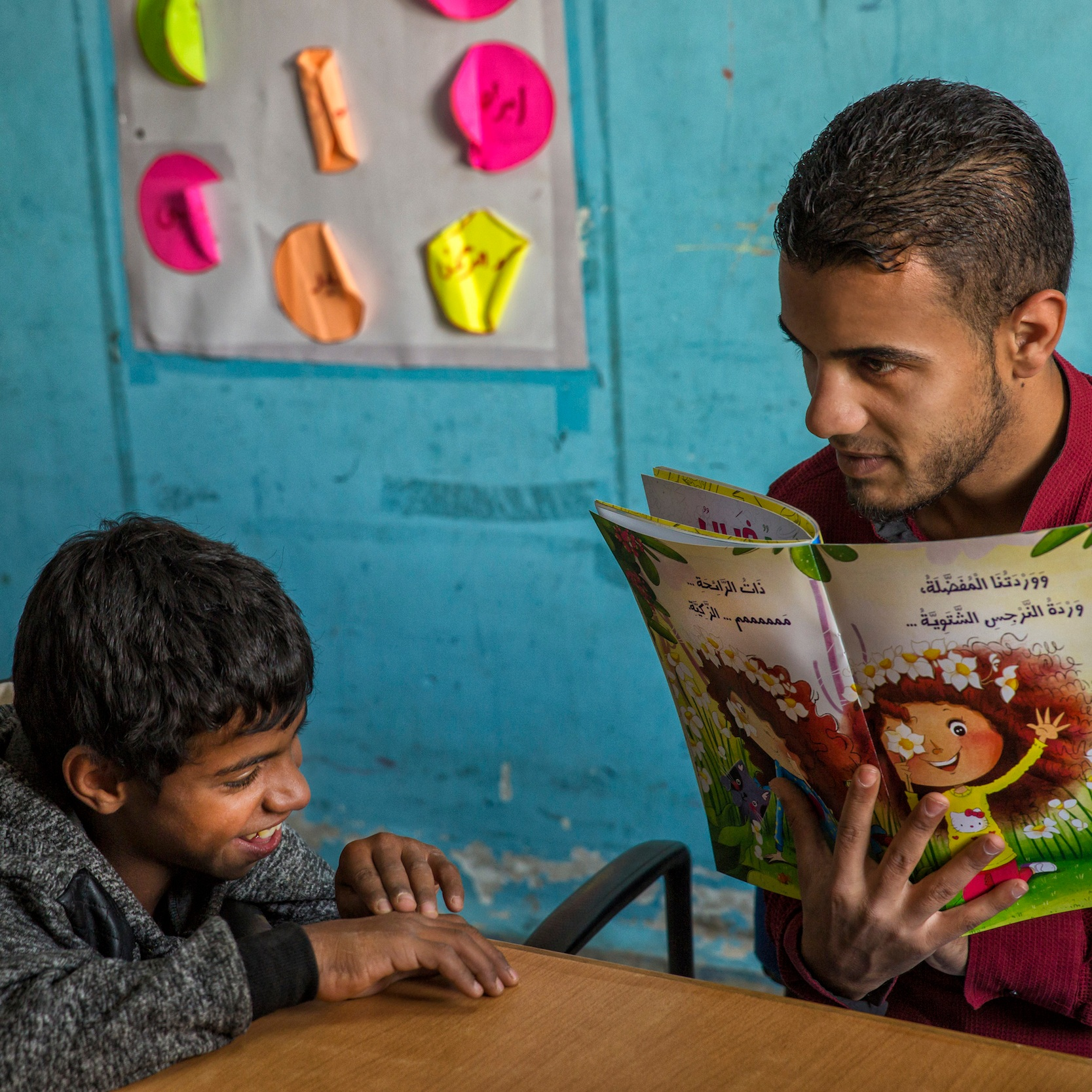 SYRIA: WE LOVE READING -