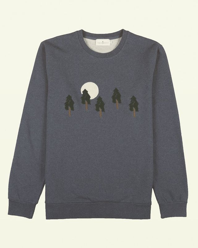 It still feels like Cajun summer, but don't sleep on the Fall sweaters like this one from French surf inspired brand Cuisse de Grenouille.