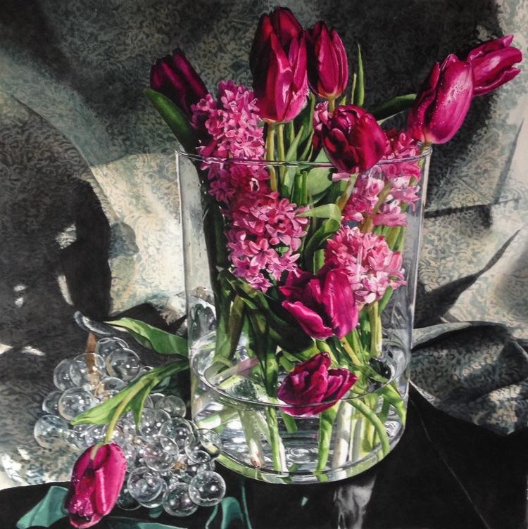 Тюльпаны в Glass.jpg
