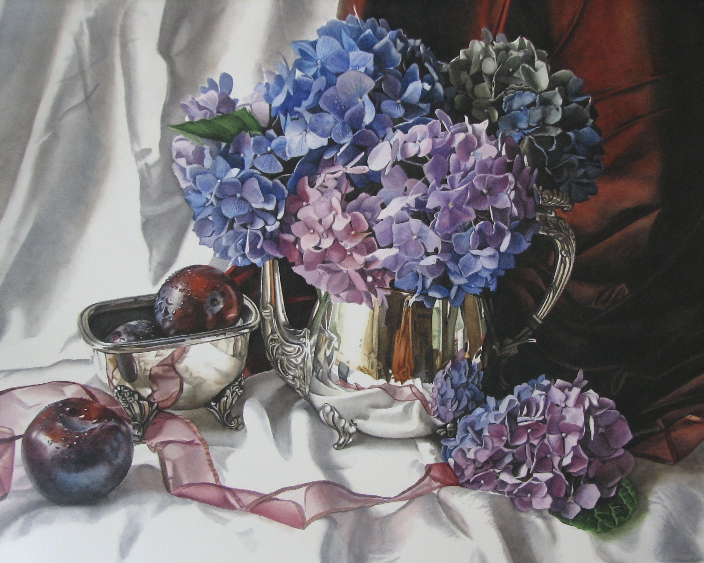 PurpleHydrageas&Plums_18x24_watercolor_2010.jpg