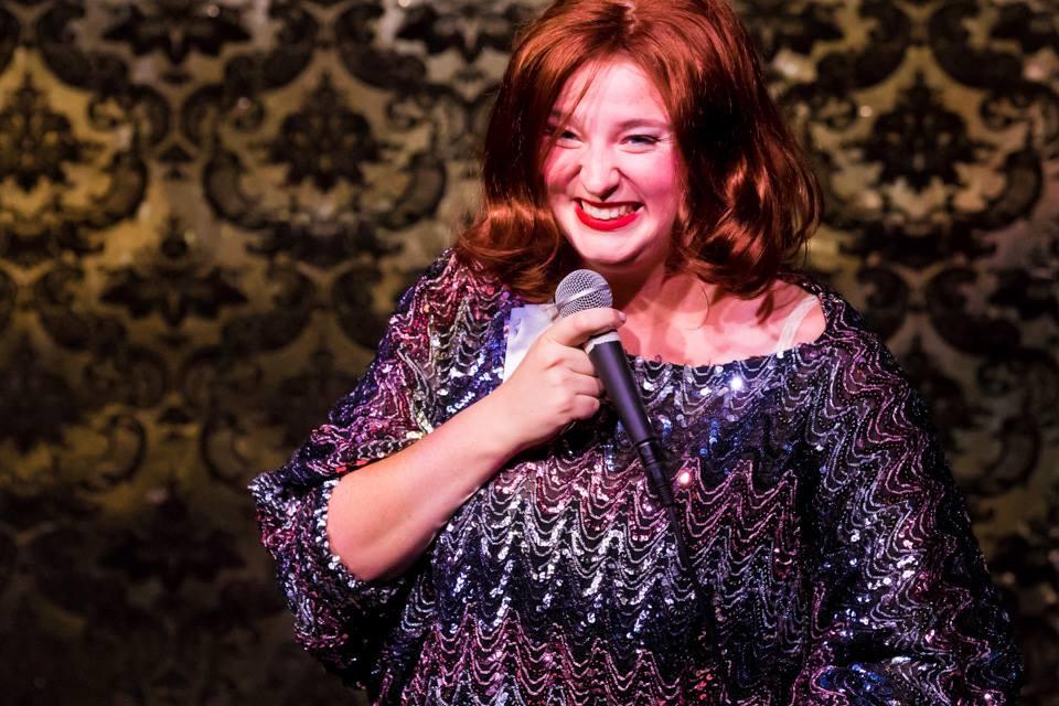 As Julianne St Germaine at the Hollywood Fringe Festival Cabaret