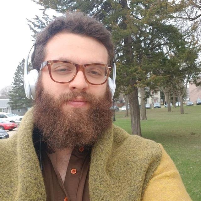 Jammin to that new @janellemonae #monae #dirtycomputer #springishere #finally #beard #zennioptical @zennioptical
