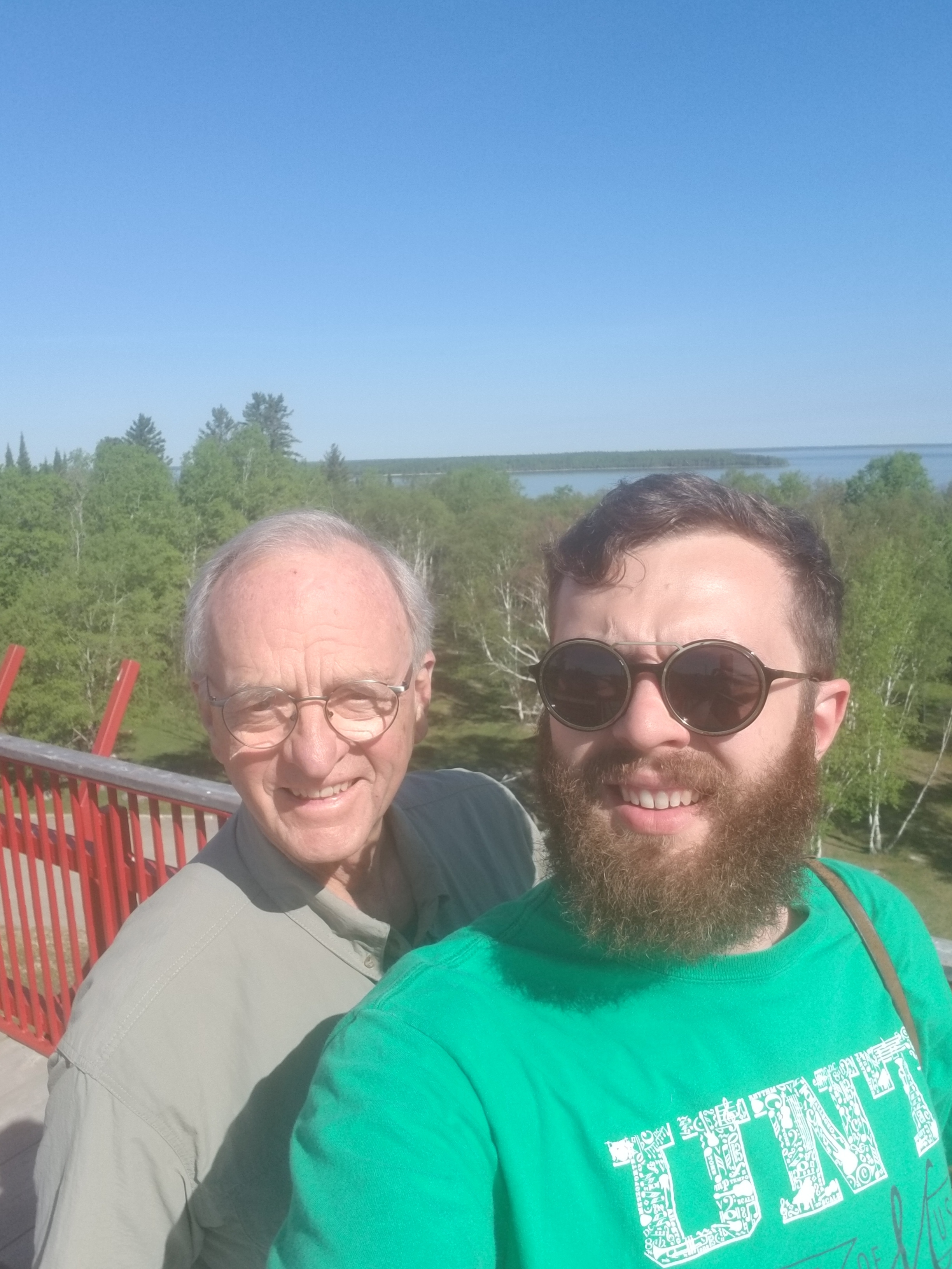At the overlook - Hecla Lake, MB