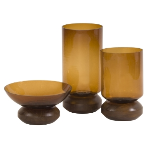 Amber Glass Collection