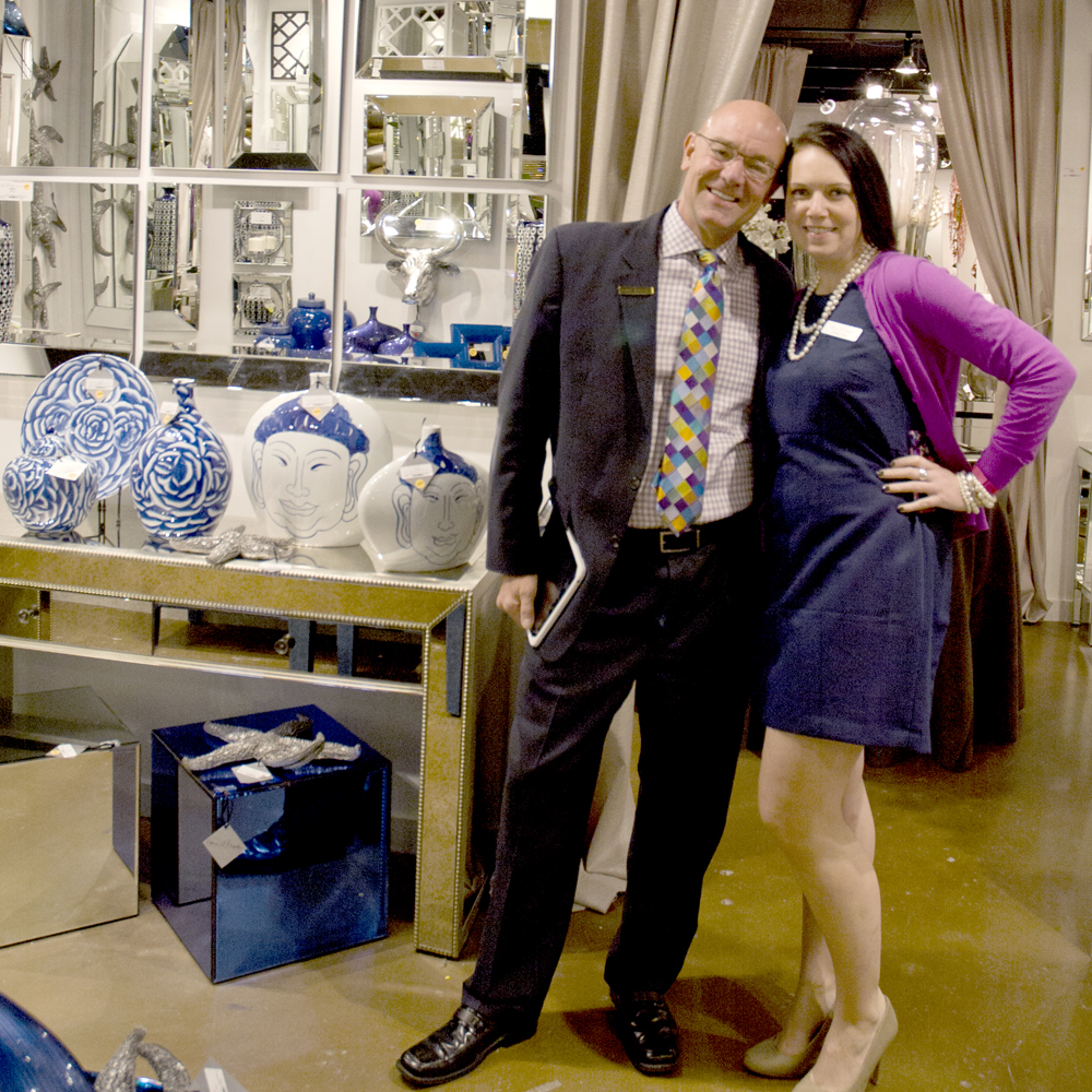 Director of Sales, Colleen & Texas Sales Red John welcome you to our High Point Showroom!