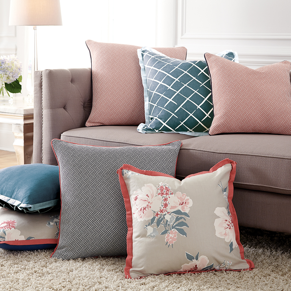 MADCAP COTTAGE BY HOWARD ELLIOTT PILLOWS   VIEW COLLECTION >