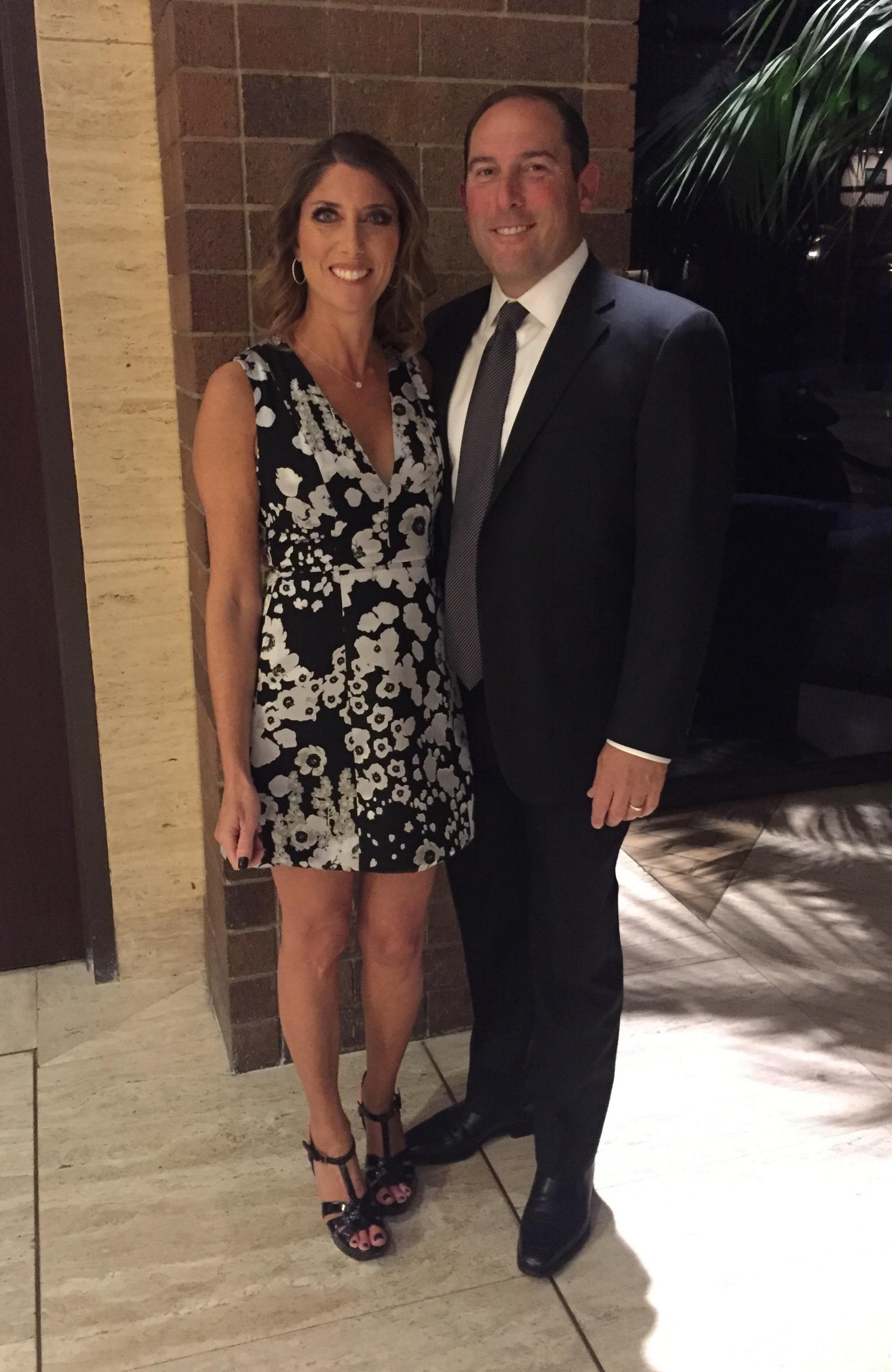 HEC President, Brian Berk & his lovely wife Davi