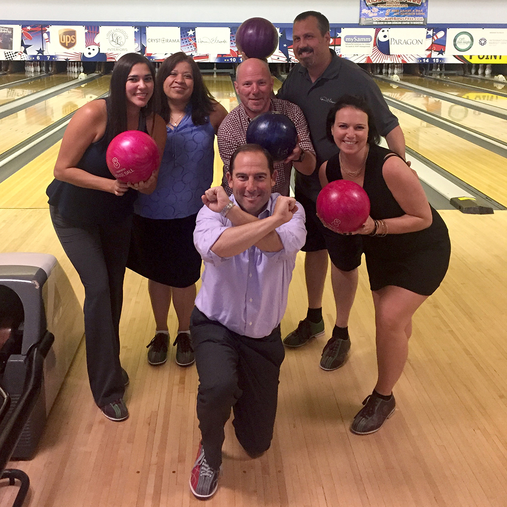 Our team Bowling for ART