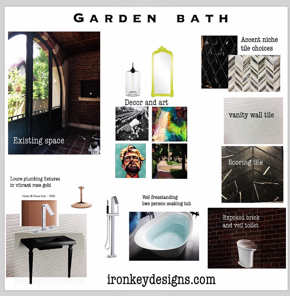 Vision of Garden Bath - Fisher Mansion
