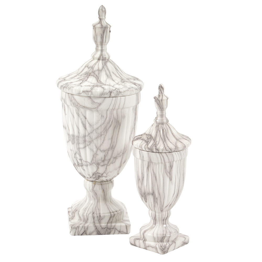 Faux Marble Urns -  View Online >