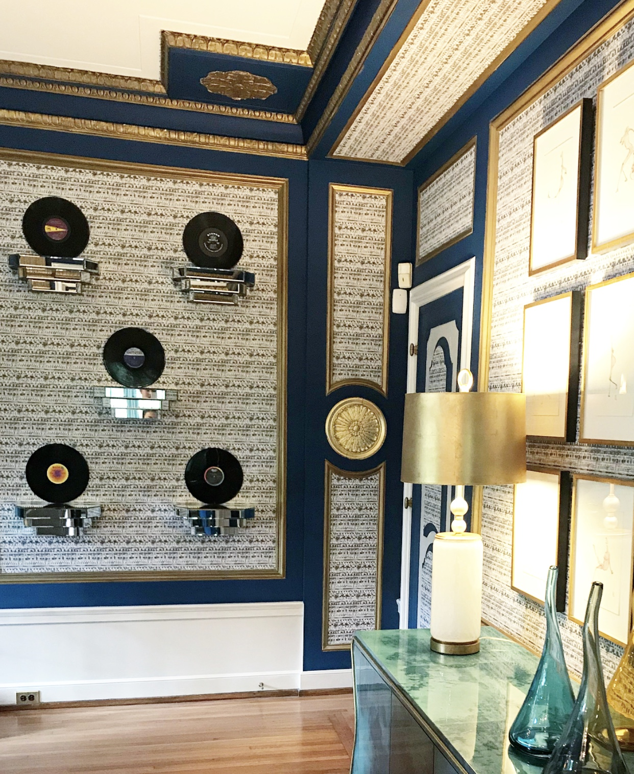 Fisher Mansion - Dining Room - Julia Buckingham