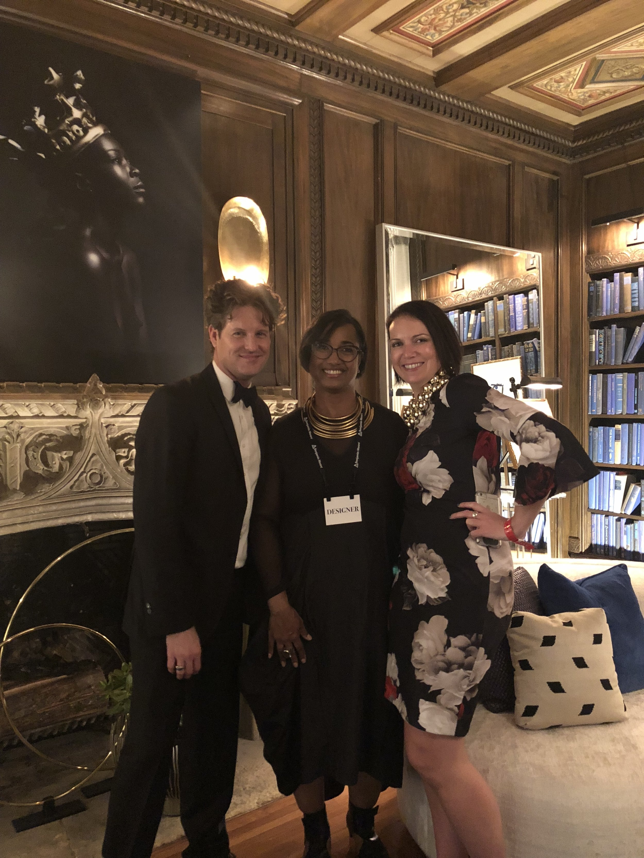 Colleen & Justin with Jeanine Haith of ShowHouse Interiors