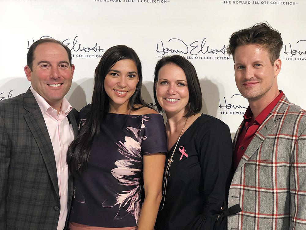 (from left to right) Howard Elliott President, Brian Berk, Business Development Specialist Daphne Baron, Vice President, Colleen Daly & Brand Ambassador. Justin Shaulis