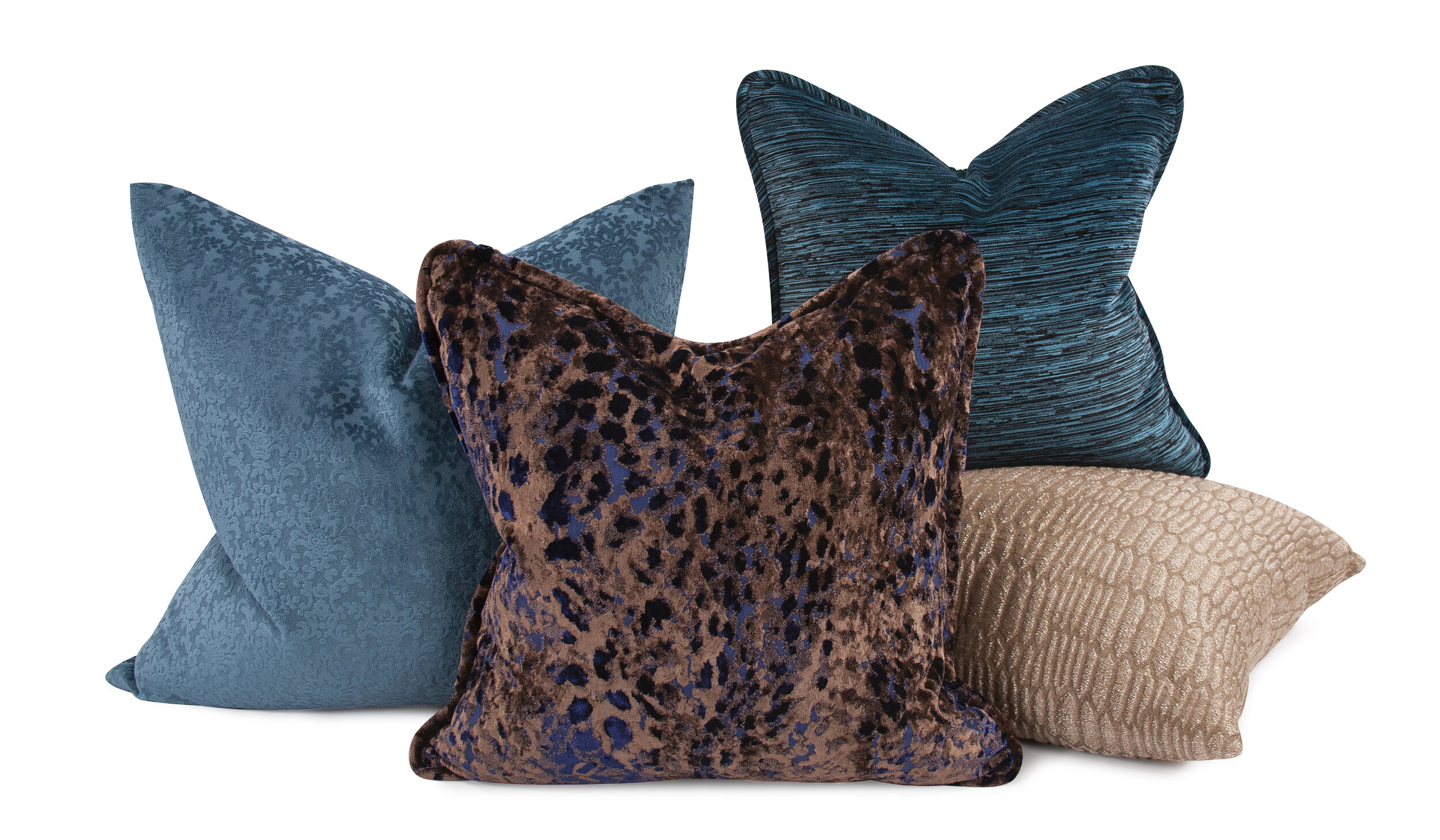 Blue Decorative Pillows  View Online >