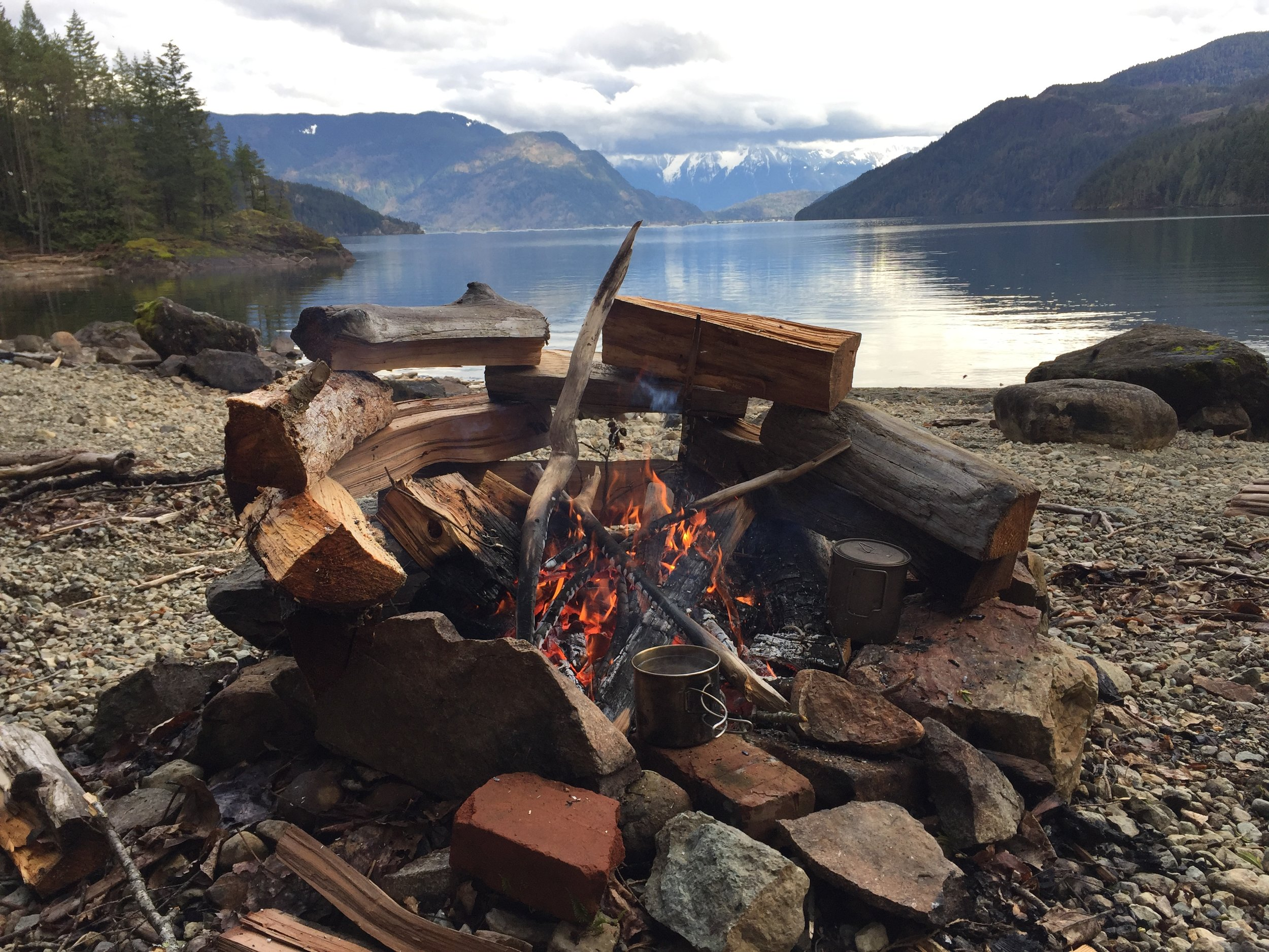 2017 Harrison Lake fire