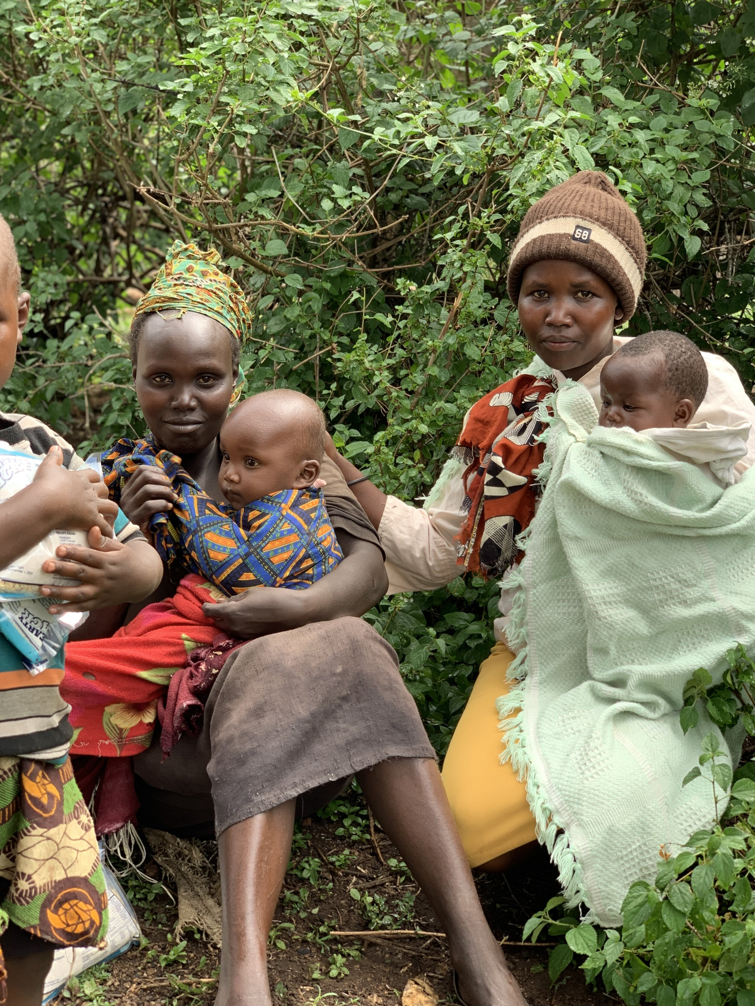 We met with mothers in Kenya to discuss the importance of proper nutrition for their growing children.