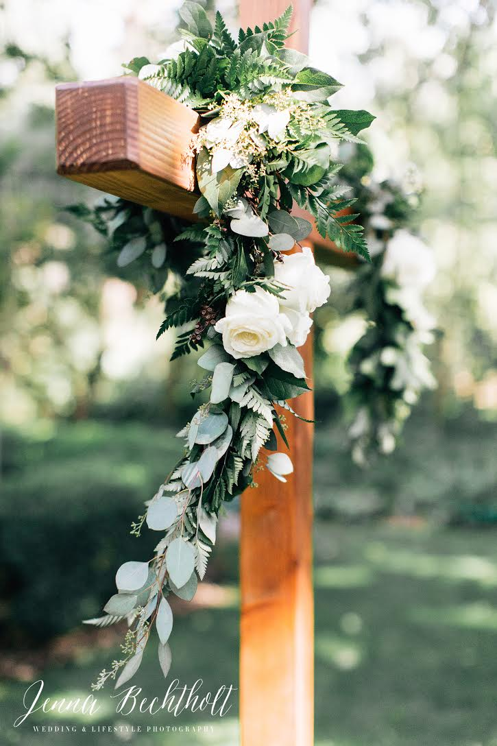 Orcutt Ranch Wedding Cross Arch | Forever Taeken Weddings