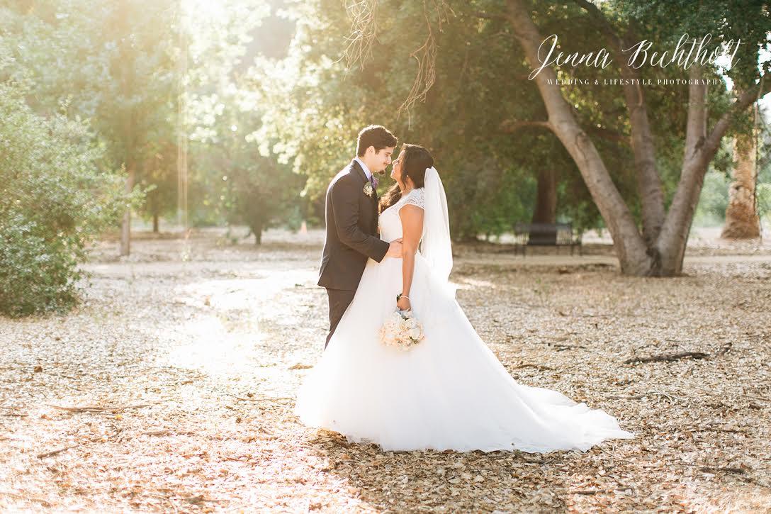 Orcutt Ranch Wedding Bride and Groom Portrait | Forever Taeken Weddings