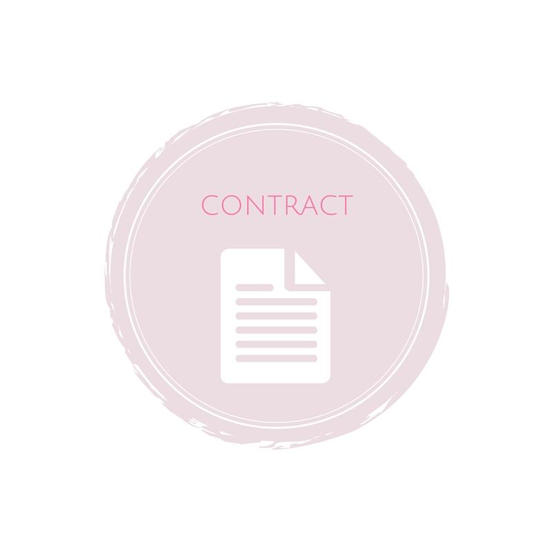 wedding contract